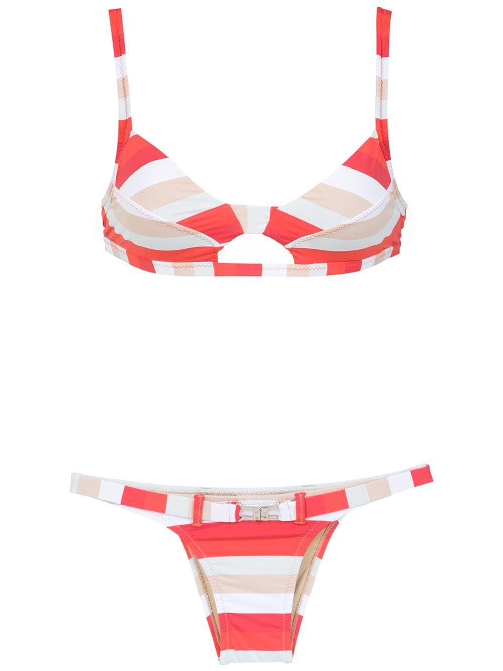 250f99e66bc Amir Slama striped bikinis - Red | Sunbabing Worthy Swimwear - STYLE ...