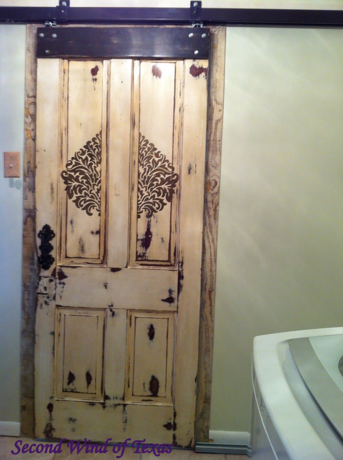 Second Wind Of Texas: Barn Door To Replace Pocket Door