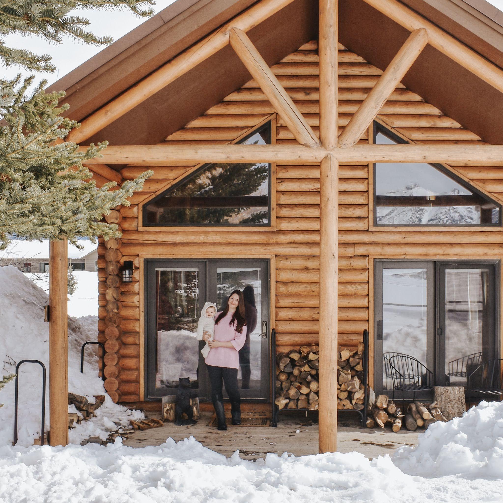 Daily Cabin Life In Jackson Hole Wy Cabin Life Cabin Little Log Cabin
