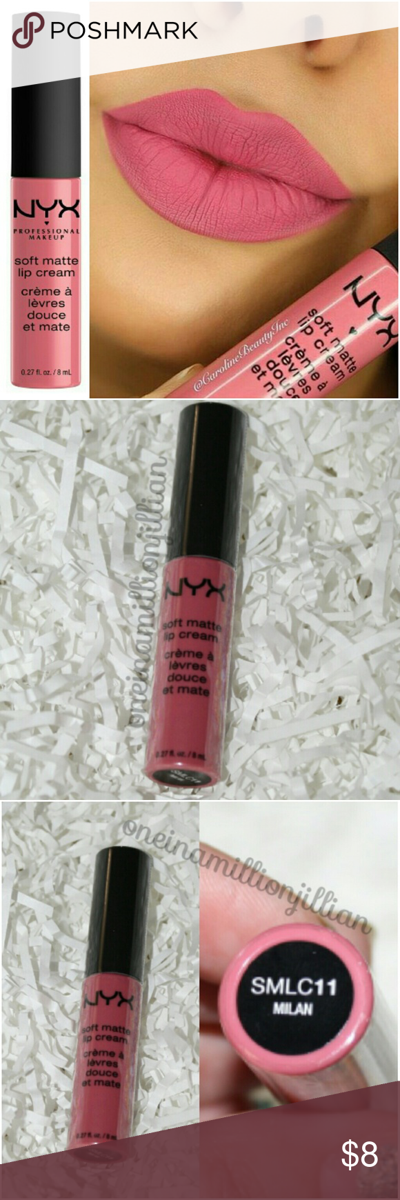NYX Soft Matte Lip Cream - Milan Boutique | Nyx soft matte ...