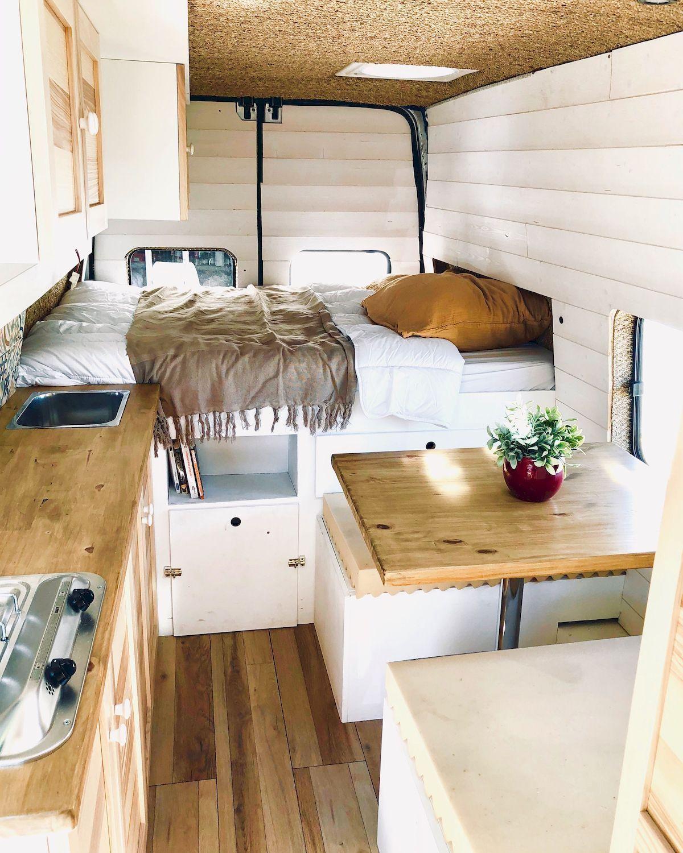 The Perfect Way Campervan Interior Design Ideas (39 | Tiny house ...