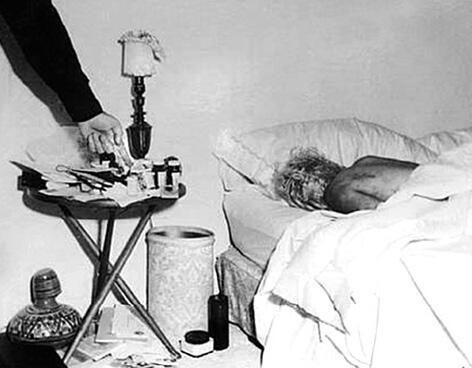 Come sarebbe stata trovata Marilyn Monroe nella sua casa di Brentwood (California) nell'agosto del 1962