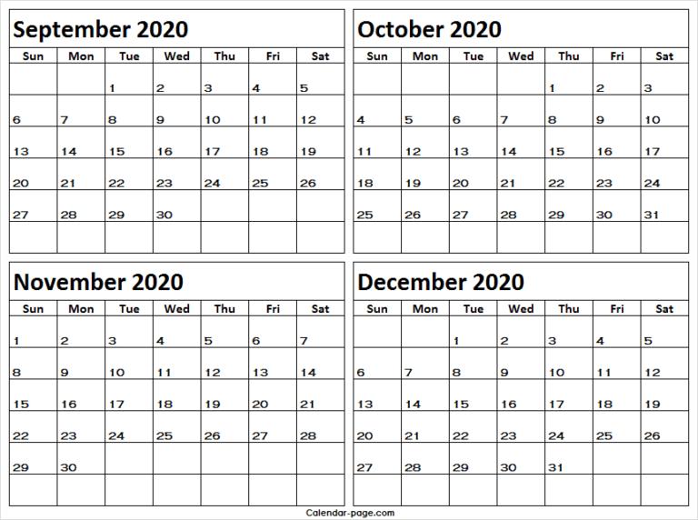 Pin On 2020 Printable Calendar