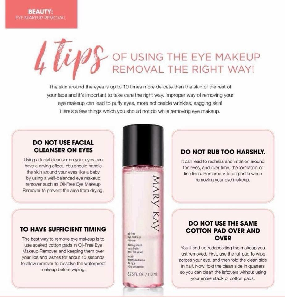 Eye Makeup mary kay Remover Mary Kay Oil Free Eye