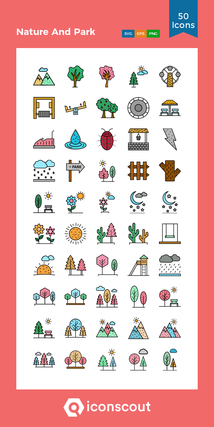 Download Nature And Park Icon Pack Available In Svg Png Eps Ai Icon Fonts Nail Art Stickers Decals Tree Icon Icon