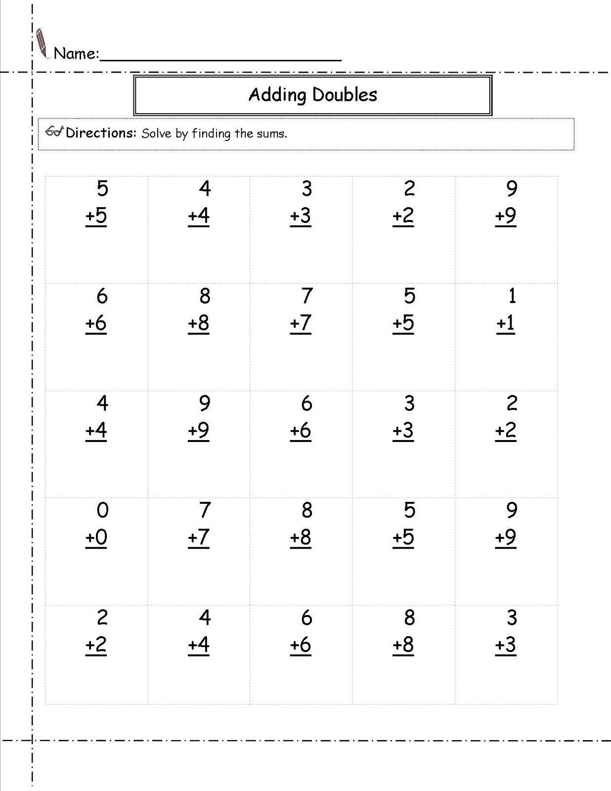 Free Addition Worksheets Multiplication Worksheets Addition Worksheets Multiplication Facts Worksheets