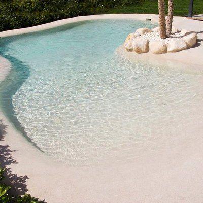 Photo of Alberca de arena med agua cristalina