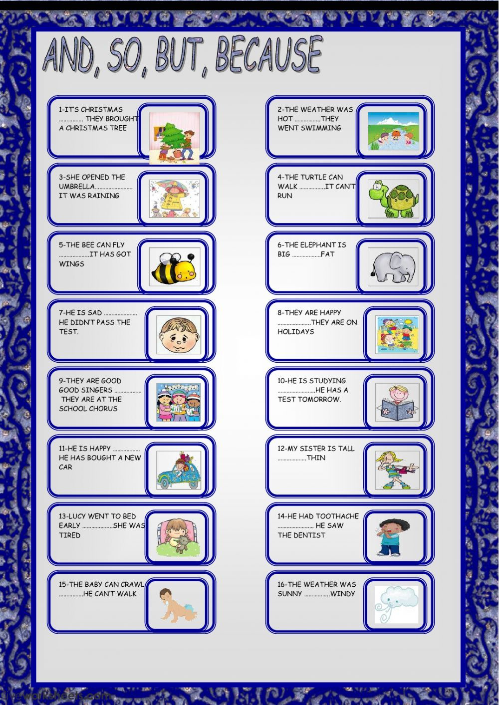 small resolution of Conjunctions Worksheets Pdf