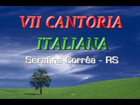 VII CANTORIA ITALIANA- SERAFINA CORRÊA- RS - 1992 - YouTube
