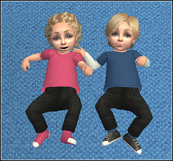 Lana CC Finds - Simple onesies - Anna's colors by Theraven at...