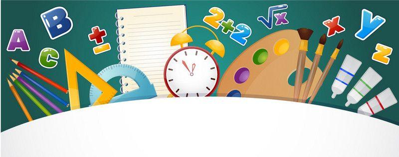 Fundo De Escola Dos Desenhos Animados Dia Dos Professores Teachers Day Free Background Photos Green Backgrounds