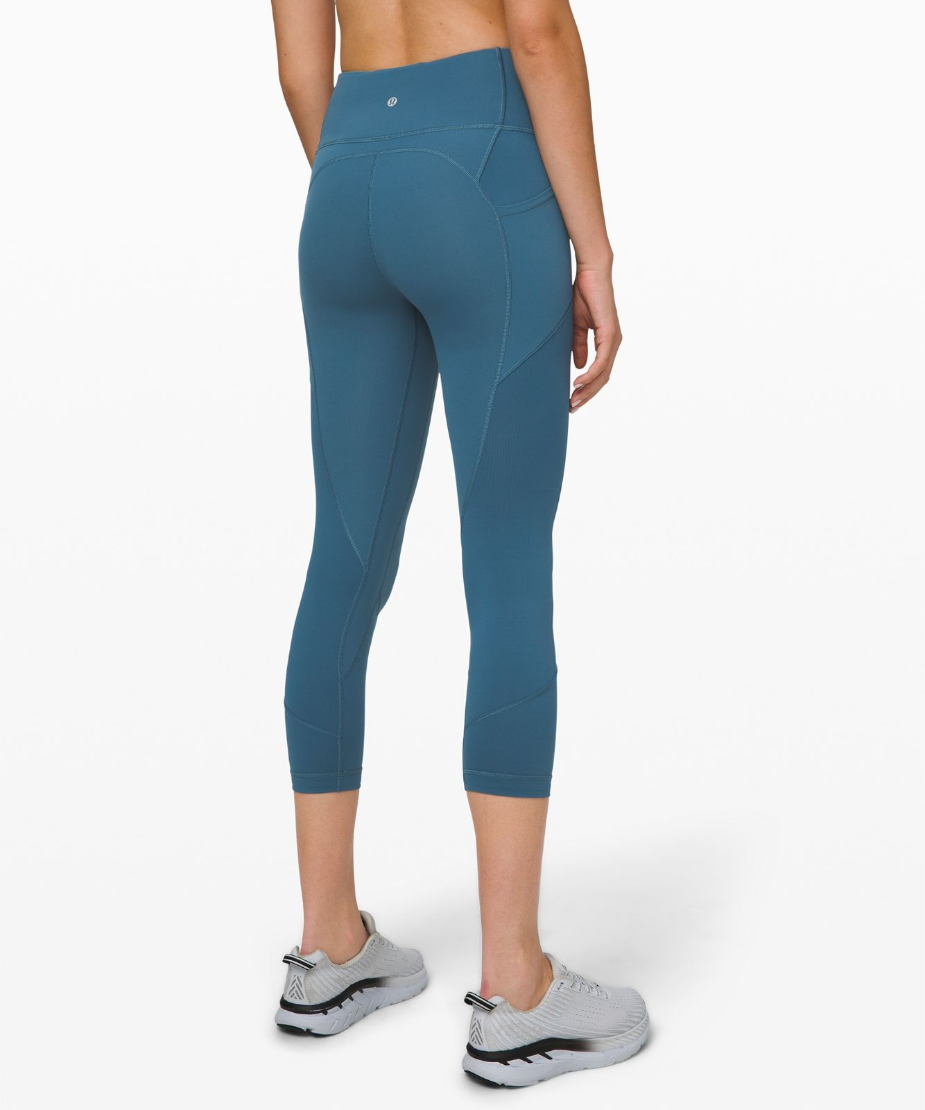 """All The Right Places Crop II *23"""" lululemon (petrol blue"""