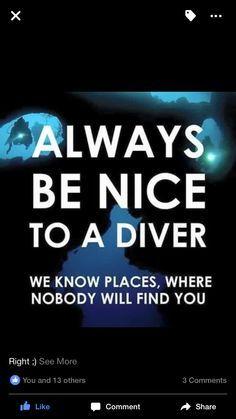 ab139163c7 Funny diving quote   Scuba Diving Life   Diving quotes, Scuba diving ...