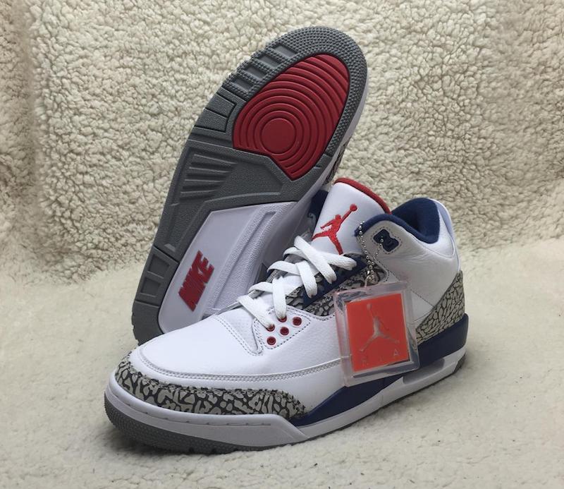 True Blue Air Jordan 3 OG Retro