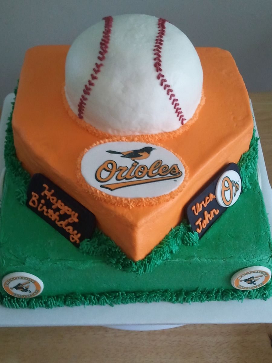 Baltimore Orioles on Cake Central Birthday party Pinterest
