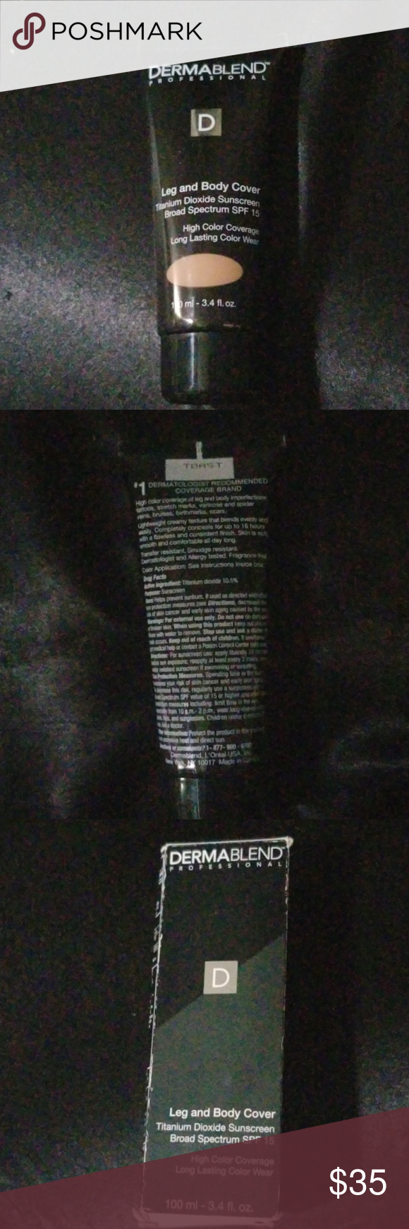 Dermablend Leg and Body Cover Dermablend Leg and Body