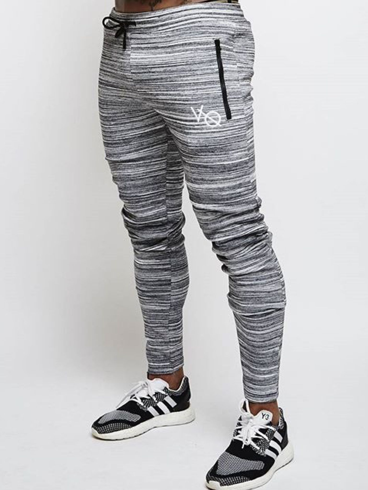 02b064ae0 Vanquish Slate Grey Flux Tapered Sweatpants from Vanquish Fitness | Fitness  Clothing | Tapered sweatpants, Outerwear jackets, Sweatpants