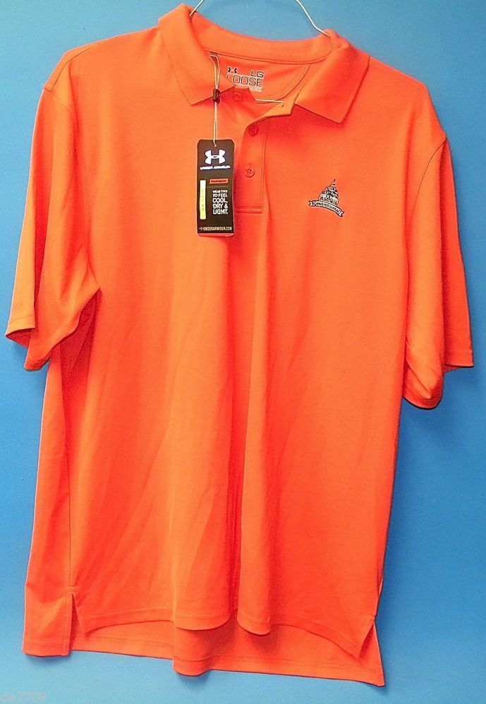 Under Armour Golf Shirt Congressional Country Club Med. New With Tags  #UnderArmour #ShirtsTops
