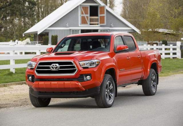 2018 Toyota Tacoma Colors Release Date Redesign Price Is A Midsize Truck Positioned Beneath The Larger Tundra It Was Totally Redesigned