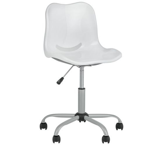 Buy Delta Height Adjustable Office Chair - White at Argos.co.uk visit  sc 1 st  Pinterest & Buy Delta Height Adjustable Office Chair - White at Argos.co.uk ...