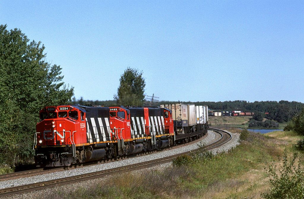 Canadian National Mixed Freight Trains