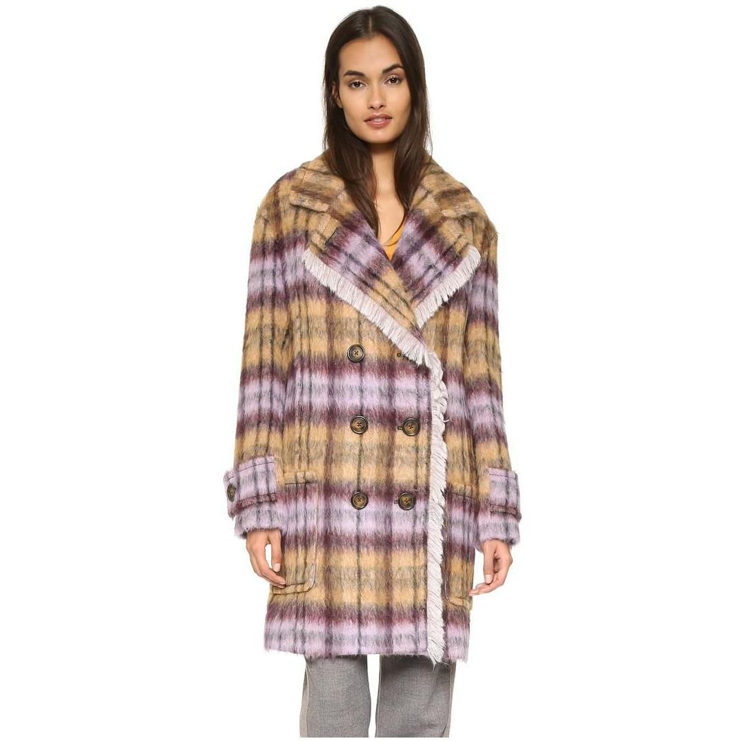 142-See-by-Chloe-Women-s-Plaid-Pea-Coat-1.jpg (1074×1074)