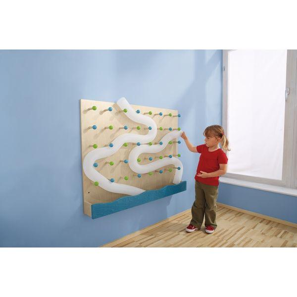 Wand steckbrett wandkugelbahn wandgestaltung m bel for Raumgestaltung tipps
