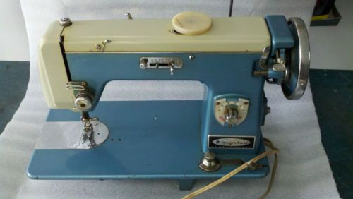 Vintage Montgomery Ward Signature Sewing Machine URR40A Serial Enchanting Vintage Signature Sewing Machine