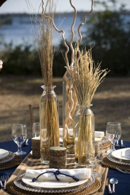 35 Romantic beach wedding table settings A lot of these