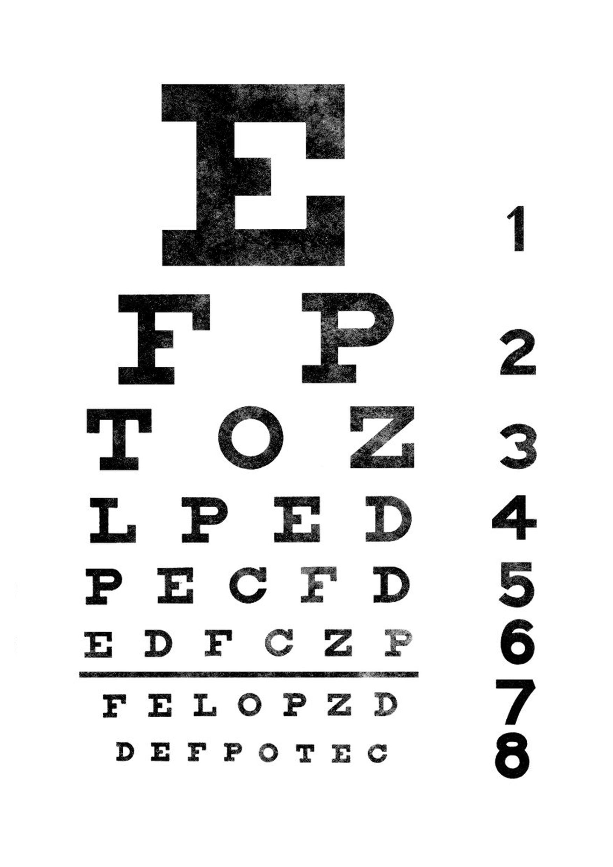 poster-exame-de-vista-1.png 1.754×2.480 pixels | Pôsteres | Pinterest