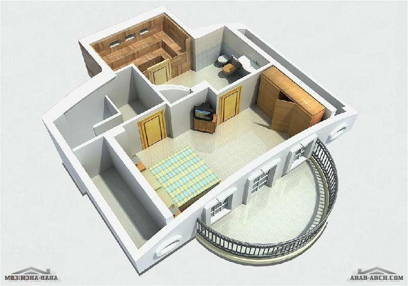 مخطط لفيلا صغيره جدا ثلاثة ادوار تنفع شاليه او استراحة Arab Arch Mall Design Design How To Plan