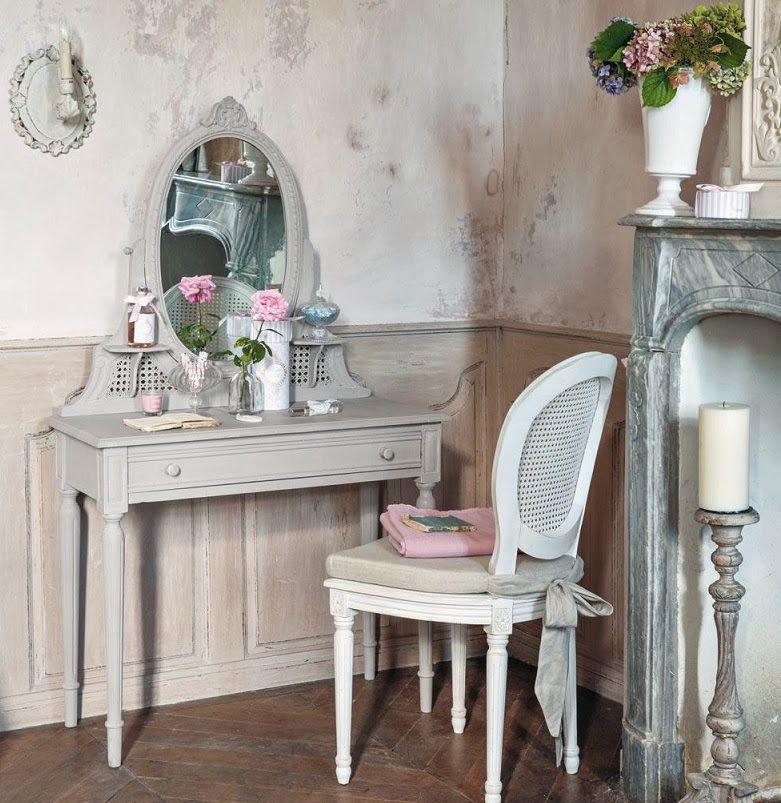 Tocador tocadores casa en oto o decoraci n de unas y tocador gris Decoracion tocador