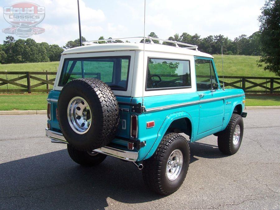 1970 Ford Bronco SOLD Ford bronco, Classic bronco, Bronco