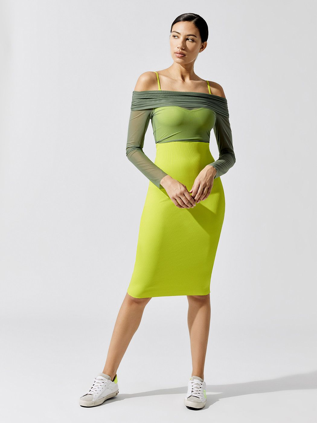 Ribbed Dress Ribbed Dresses Body Con Dress Outfit Dresses [ 1400 x 1050 Pixel ]