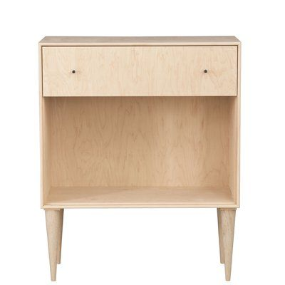 Drawer Nightstand, 1 Unfinished Furniture