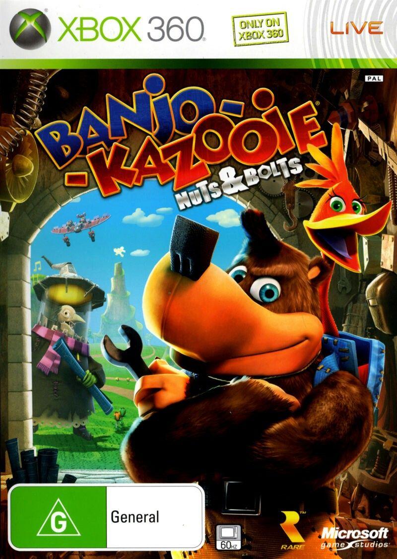 BanjoKazooie Nuts & Bolts [PAL Australia] Xbox 360 spiele