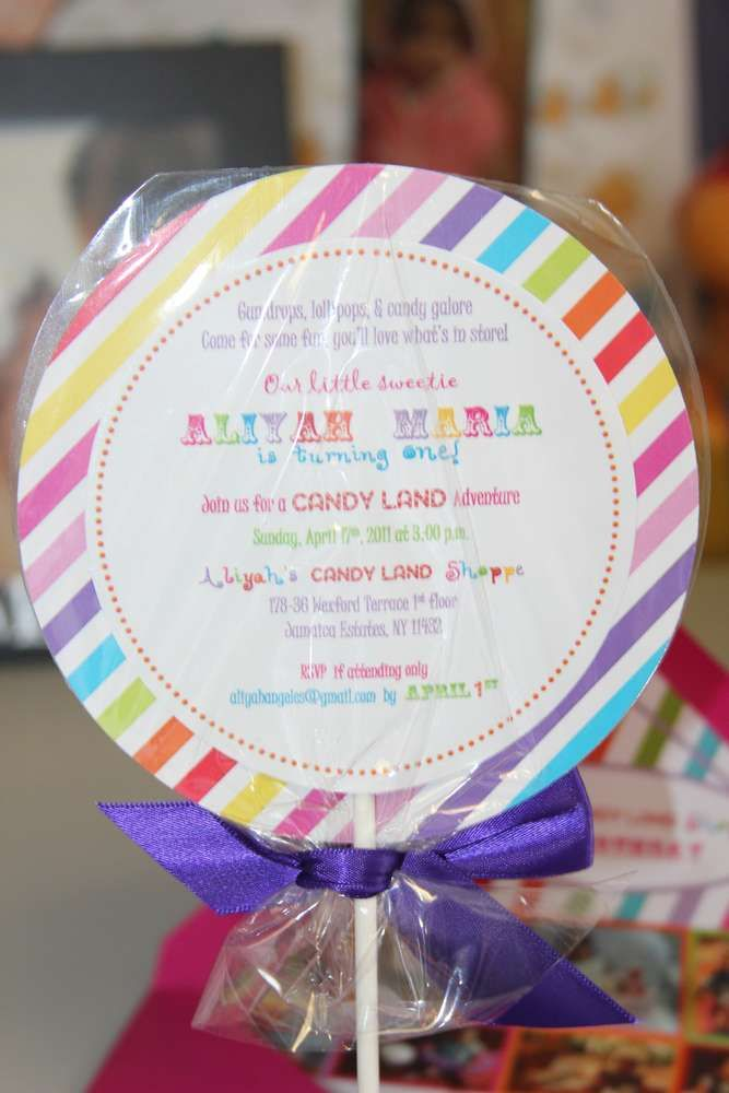 Candy Land Sweet Shoppe Birthday Party Ideas | Candy land, Birthday ...