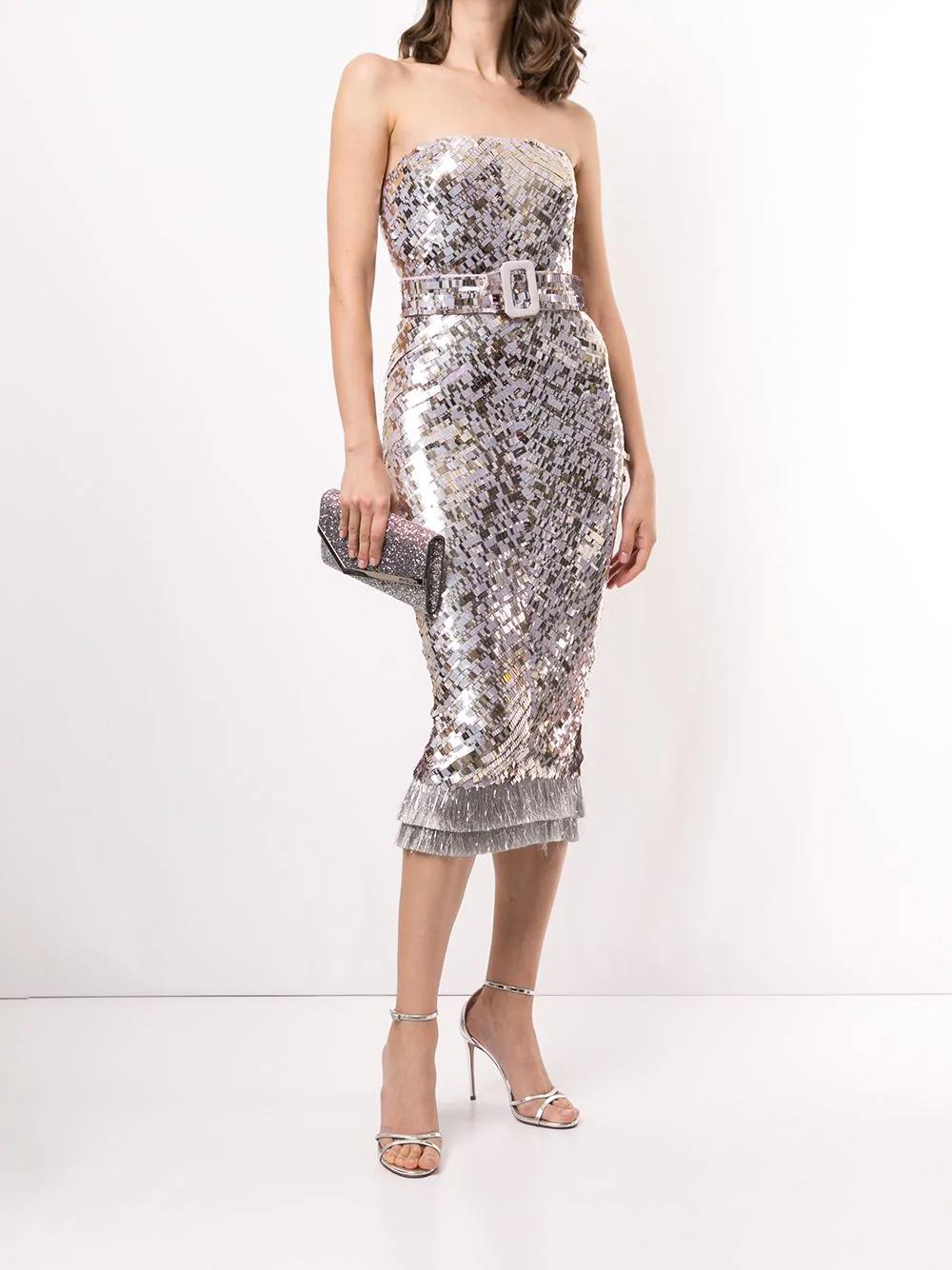 Rachel Gilbert Hunter Belted Dress - Farfetch