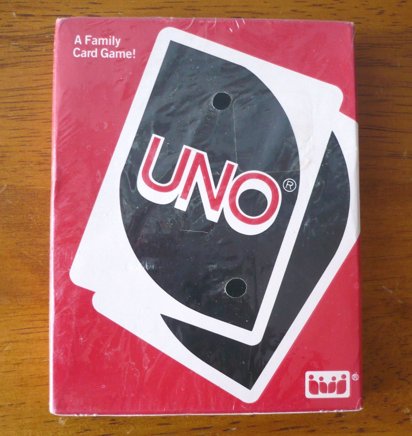 Vintage UNO Card Game Complete Deck 1988 by