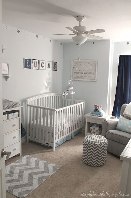 Beautiful Baby Boy Rooms: Simply Beautiful By