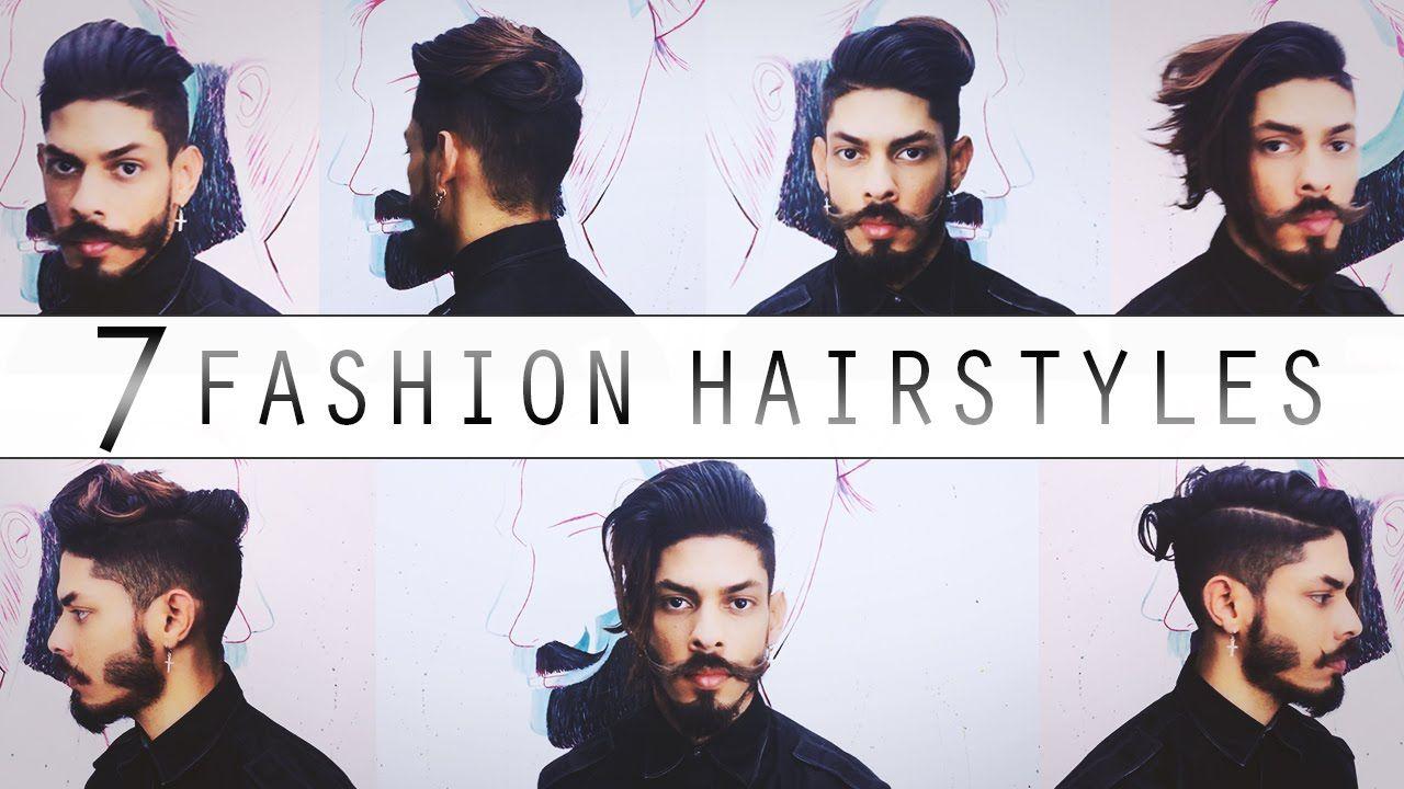 7 Fashion Hairstyles 2016 | Medium-Long Hair - YouTube