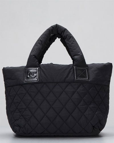 fb37188e22015a Chanel Quilted Nylon Coco Cocoon Tote (wish I would have bought this back  in D.C. when I wanted to).