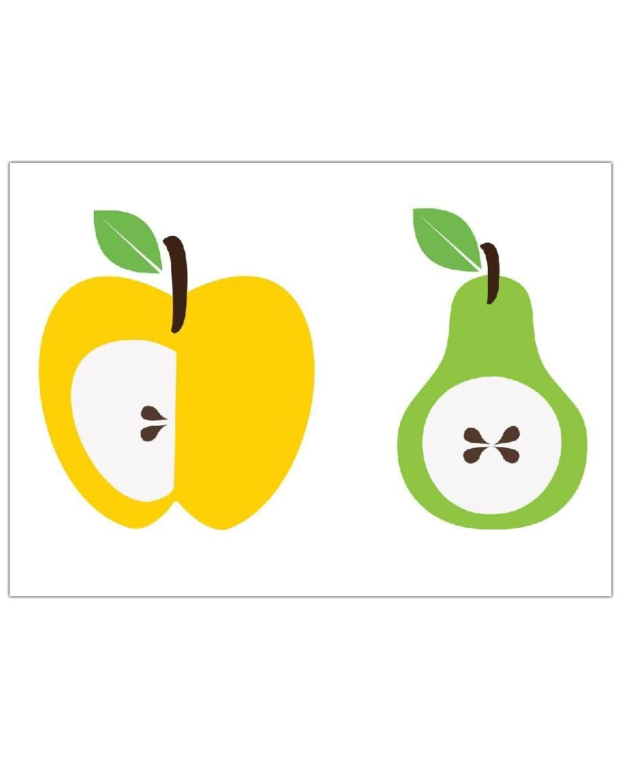 The Apple And Pear Poster VON And I Love You She Said now on JUNIQE ...