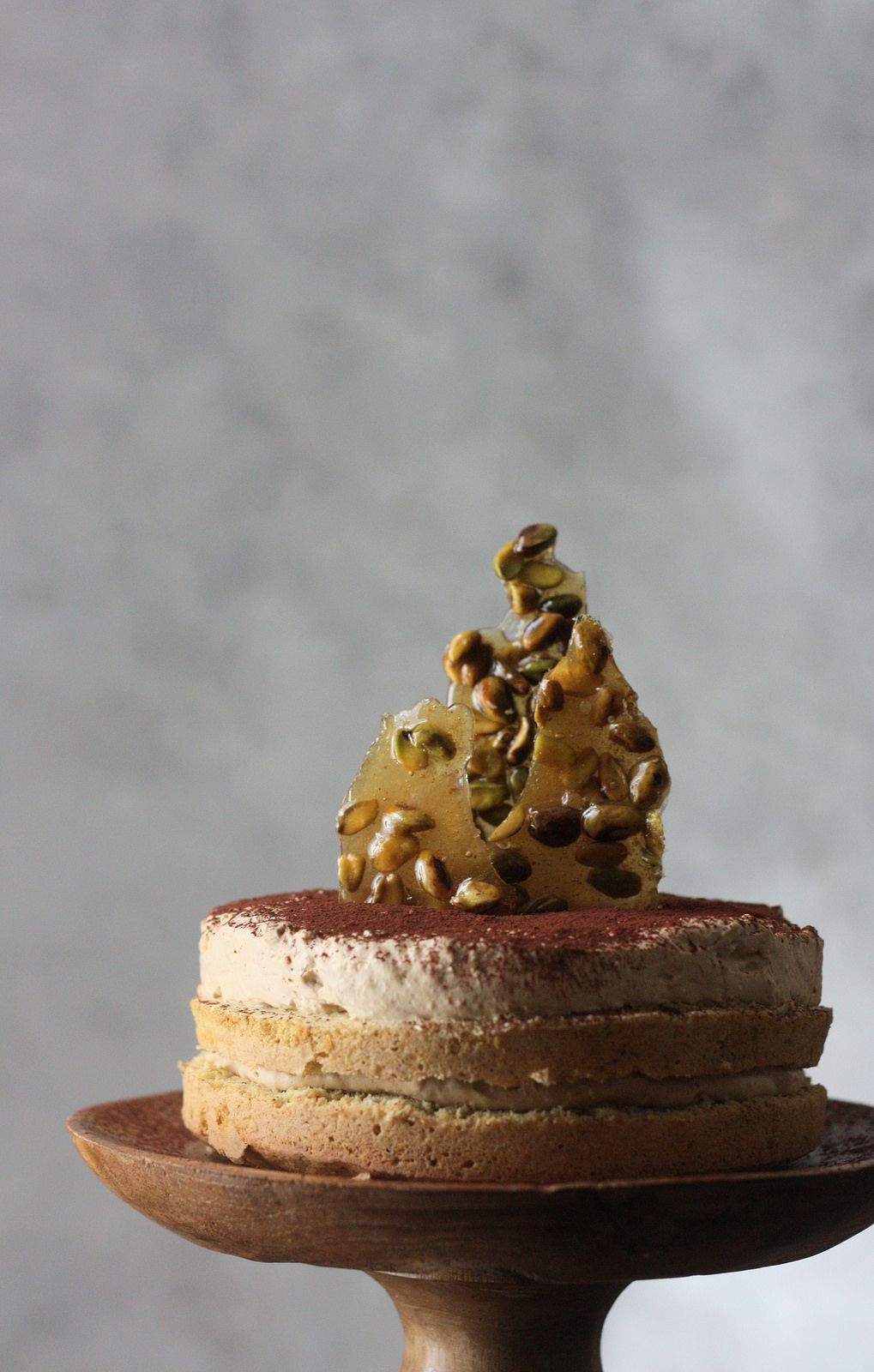 Pistachio Cake With Coffee Cardamom Mousse Pistachio Cake Cake Coffee Cake