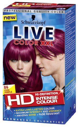 Schwarzkopf Live Color Xxl 86 Pure Purple Live Color Xxl Http
