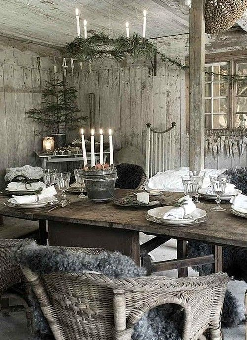 The Gifts Of Life, Interiors, Winter, Yule, Cabin