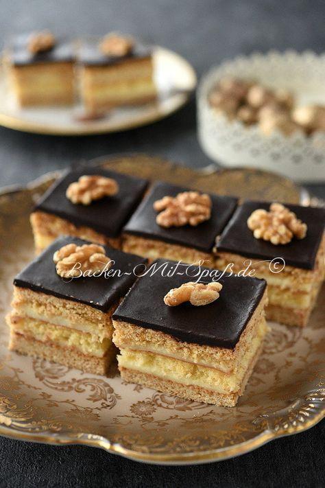 Knigsberg Kuchen  Recipe  Hmmsweet  Kuchen rezepte Schichtkuchen Kuchen