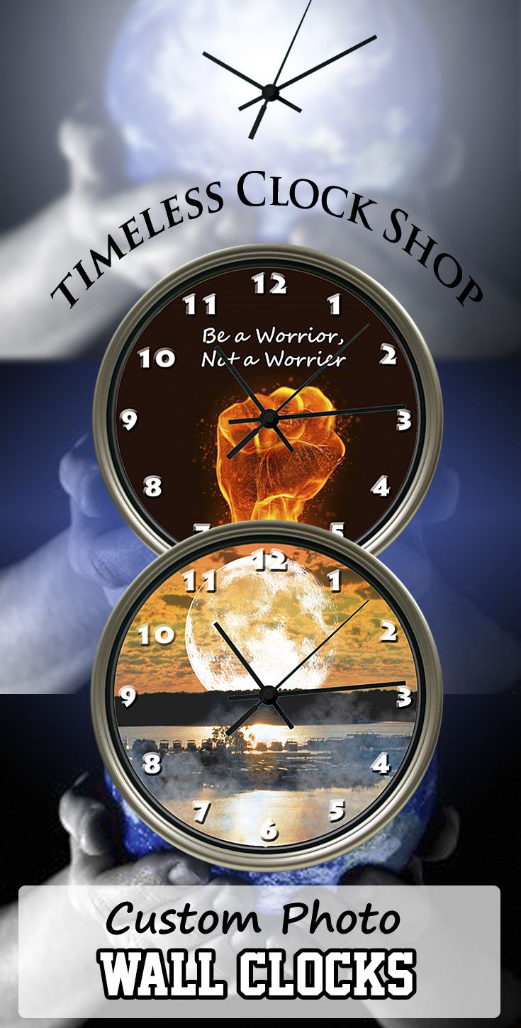 Create your very own original wall decor style with an inexpensive create your very own original wall decor style with an inexpensive custom photo wall clock amipublicfo Gallery