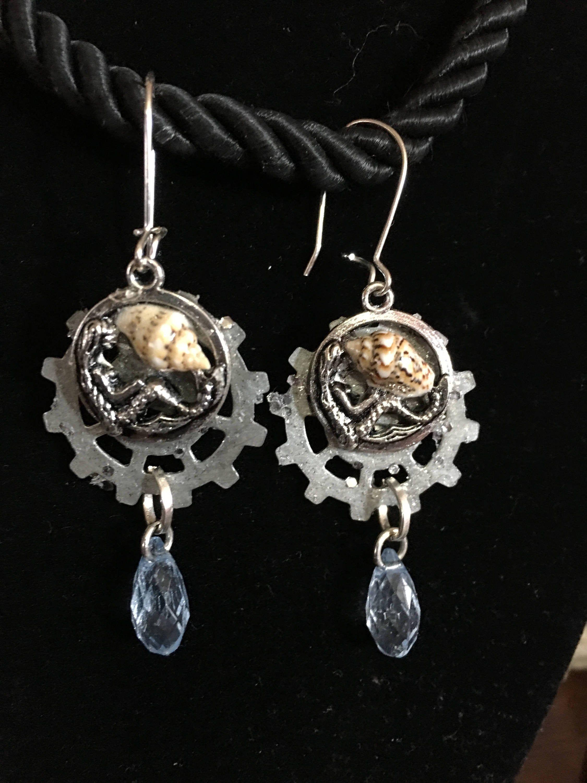 Spoon Gift Spoon Jewelry Mermaid Gift Mermaid Girl Mermaid Necklace Gifts For Her Silverware Jewelry Pendant Necklace Spoon Necklace