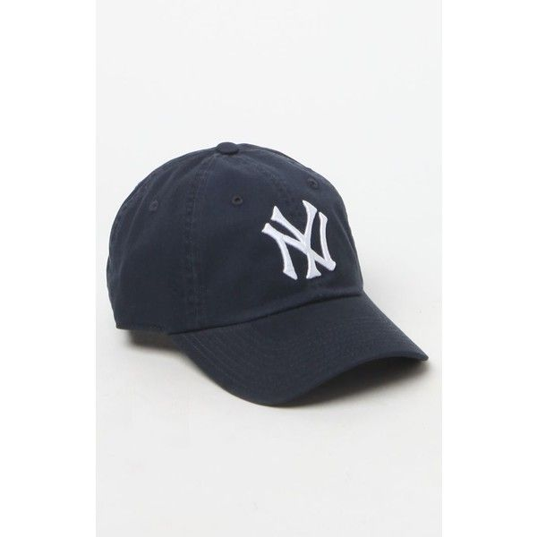 3267fe280 American Needle NY Yankees Baseball Cap ($25) ❤ liked on Polyvore featuring  accessories, hats, american needle, ball cap hats, yankees ball cap, yankees  ...